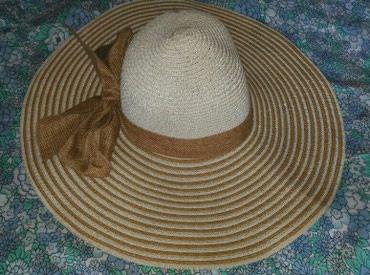 Новая женская шляпа с большими полями в Бишкек