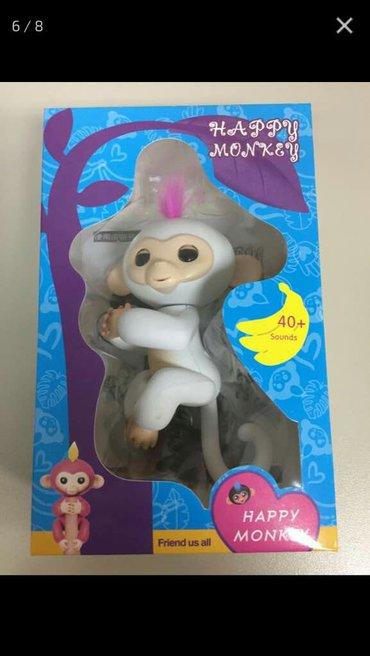 Happy monkey индукционная интерактивная ручная счастливая обезьянка ,  в Лебединовка