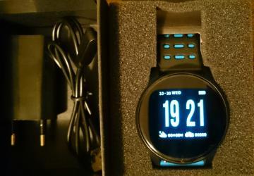 Lg-l-fino - Srbija: Smart Watch W1 - pametni sat, dobro ocuvan, originalno pakovanje