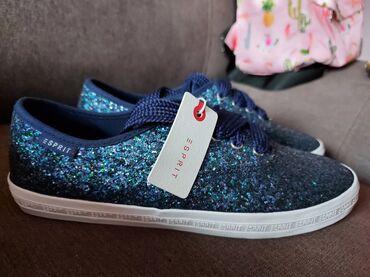 Ženska patike i atletske cipele   Sabac: Esprit 39 Novo efektne, prelepe,gaziste 25cm