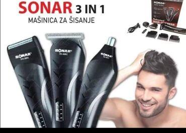 Aparati za brijanje - Srbija: SONAR 3u1 set ⚀ Trimovanje ⚁ Brijanje ⚂ Šišanje  AKCIJSKA cena  2300