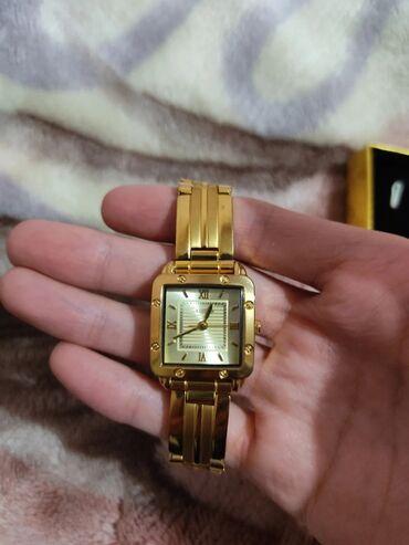 Золотистые женские наручные часы KOICA. Производство Южная Корея