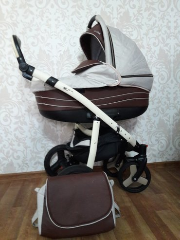 Rox Baby Barcelona  3&1 ткань лен, в идеальном состоянии,  в комплекте в Бишкек