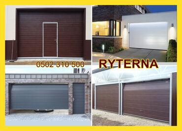 ворота на гараж в Кыргызстан: Подъемные Секционные ворота Ryterna-Ритерна для дома и гаража