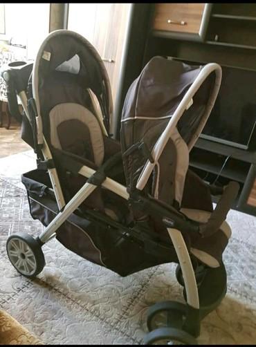 sagem myx 1 twin в Кыргызстан: Продается коляска для двойни или детей-погодков Chicco Together Twin