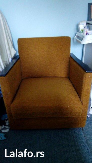 Kuća i bašta   Rumenka: Prodajem 2 polovne ocuvane fotelje,stariji model, na snizenju 35e