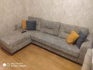 Ev və bağ Ağdamda: Künc divan altı baza açılır 1 ayındı 950 AZN alınıb.kocle bağlı tecılı