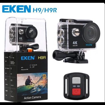 Action kamera Eken h9 ve h9r 4k aksion sport video kamera. yeni. в Bakı