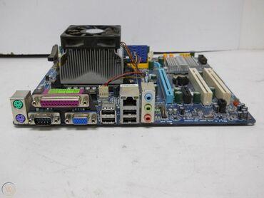 Racunar - Srbija: Ispravna maticn ploca za racunar dd2momplet sa procesorom i kuleromna