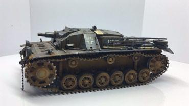 Стендовая модель немецкого танка в Бишкек