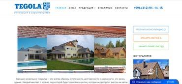 Разработка сайтов в Бишкеке в Бишкек