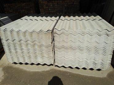 Продаю шифер кант-курулуш толщина 6мм в Бишкек