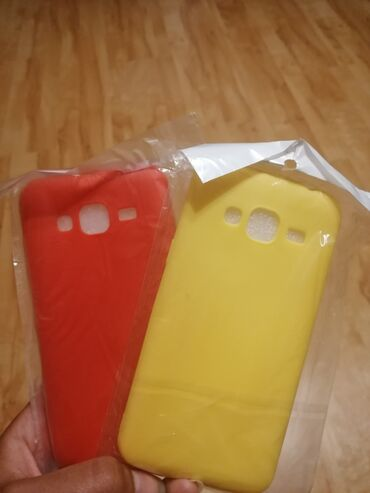 Dresovi - Srbija: Nove maskice u zutoj i crvenoj boji za Samsung j3 cena 250 din za