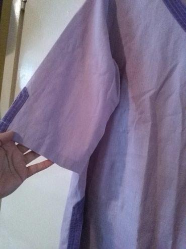 Tunika za krupnije dame od lana,prelepo stoji,nije nosena - Sombor - slika 9