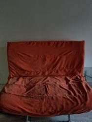 кресло для офиса в Кыргызстан: Диван кресло офисный складной 1метр20см/1 метр20см раскладной