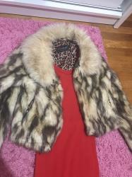 Bundica za s velicinu haljina crvena pamucna na poklon ukoliko kupite - Novi Sad
