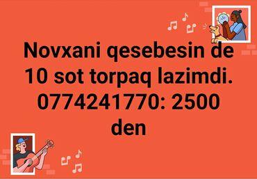 - Azərbaycan: Satılır 10 sot Tikinti vasitəçidən