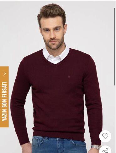 adidas m в Кыргызстан: Pierre cardin новый с этикет свитер М размер