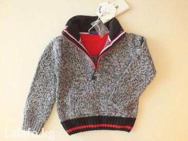 свитер gulliver. новый размеры- 116 см (6 лет), 110 см (5 лет), 92 см  в Бишкек