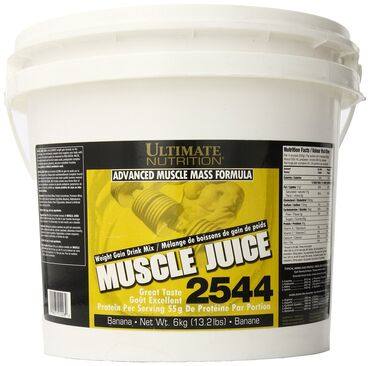 Ultimate Nutrition Muscle Juice 2544 - это белково-углеводная смесь (г