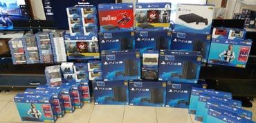 Bakı şəhərində Sony playstation 4 pro. 1 tb yaddaw. 4k formatinda. En son modeldir.