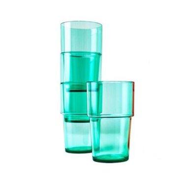 Набор из 4-х стаканов от Икеа!!! Материал: полипропилен. Обьем 500 мл. в Лебединовка