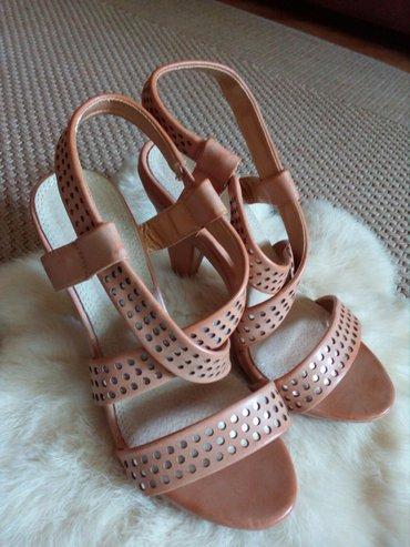 Ženske Sandale i Japanke - Crvenka: Krem sandale br. 36