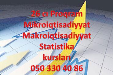 26 ci proqram Mikro Makro kursu 26 ci proqram Makroiqtisadiyyat kursla