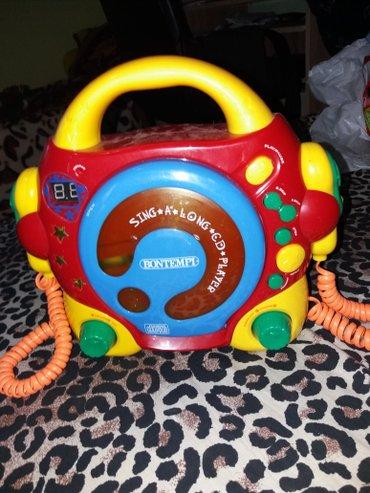 Edukativna decija igracka telefon na pritisak ispusta razne zvukove - Loznica