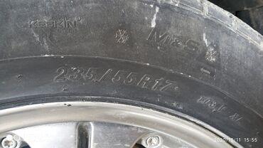 диски 17 мерседес в Кыргызстан: Продаю диски р17 с резиной Мерседес, разболтовка 5/112 в отличном
