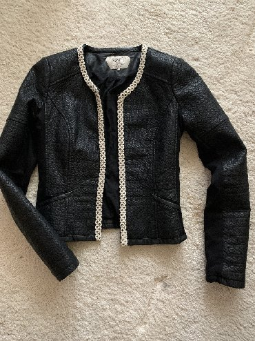 Zara prolecna romanticna jaknica, kezual, S-velicina, crna sa bez deta