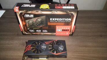 ASUS RX 570 4GB EXPEDITIONВ хорошем состоянии в комплекте с