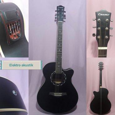 Bakı şəhərində Elektro akustik gitara