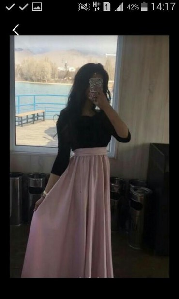Платье на прокат по низкой цене нежное красивое  !!!!!1 в Бишкек