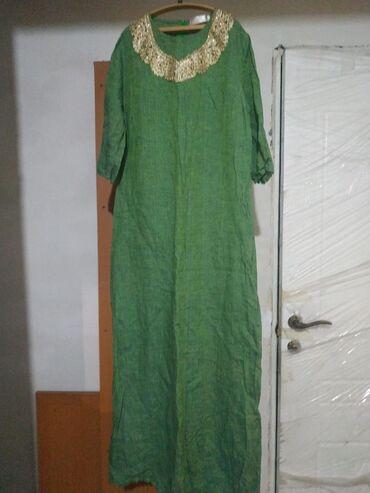 Продаю платье зелёное размера М -L (46-48). Можно на 44 размер, если