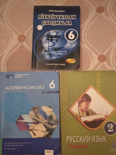 Azərbaycan dili dim 6sinif-4AZNNamazov 6-3AZNRus dili 2sinif