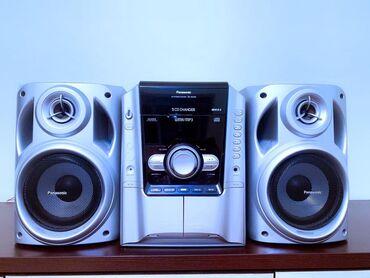 б-у-музыкальный-центр в Кыргызстан: Продаю музыкальный центр Panasonic (оригинал) Япония