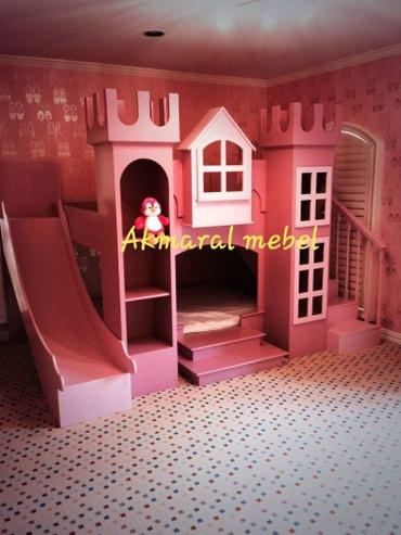 """Детская мебель в Кок-Ой: """"Хан ордосу"""" кровать размер матраса 190/80см"""