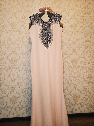 вечернее платья русалка в Кыргызстан: Продаю вечернее длинное платье ( русалка) ТурцияЦвет ; бледно
