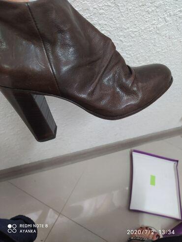 Кожаные ботильоны. очень качественные итальянская обувь. отдам