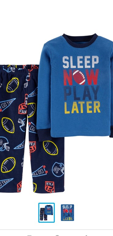 детская пижама для мальчика в Кыргызстан: Carter's из Америки, новая пижама на мальчика. размер 4 года, верх х/б