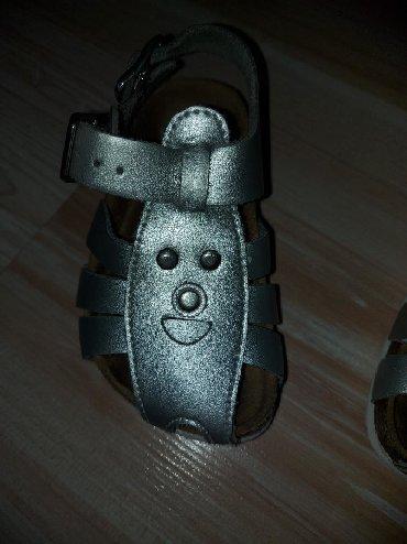 Grubin decije sandalice,Jako malo nosene,u odlicnom stanju