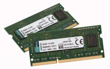 Bakı şəhərində Notbuk üçün 8Gb PC3L DDR3 ram satılır,say mehduddu,mağazada