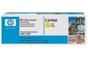 HP C4194A желтый оригинальный картридж для HP Color LaserJet 4500/4550 в Бишкек
