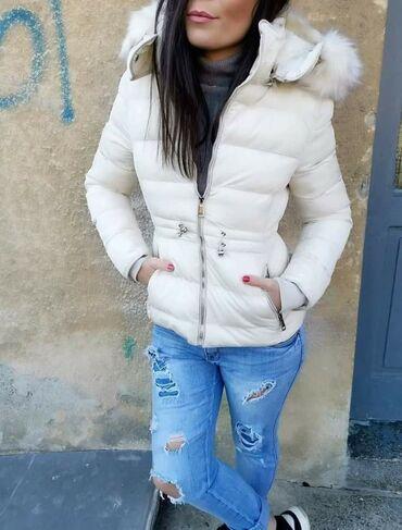 Zimska jakna sa krznom - Srbija: PRELEPA ZIMSKA JAKNACENA SAMO 2600dinVelicne S do XlUži modelSkida se