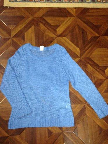 Мягкая кофта ангорка нежно голубого цвета,в хорошем сострянии, размер  в Бишкек