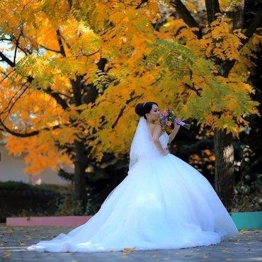 💥 Свадебное👰🏻 и вечернее платье💃🏻, свадебные туфельки👡, фата, бо в Бишкек - фото 6
