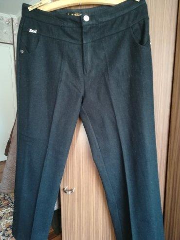 мужские черные брюки в Кыргызстан: Брюки драповые теплые черные размер 48