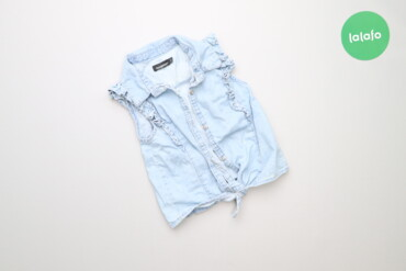 Топы и рубашки - Голубой - Киев: Дитяча сорочка без рукавів In Extenso, вік 5 р., зріст 118 см    Довжи
