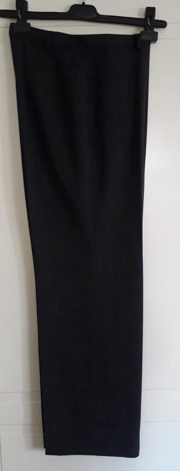 Pantalone tifany kroj - Srbija: Pantalone xl-italijanski 44debele zimske od viskozeravan kroj,veoma